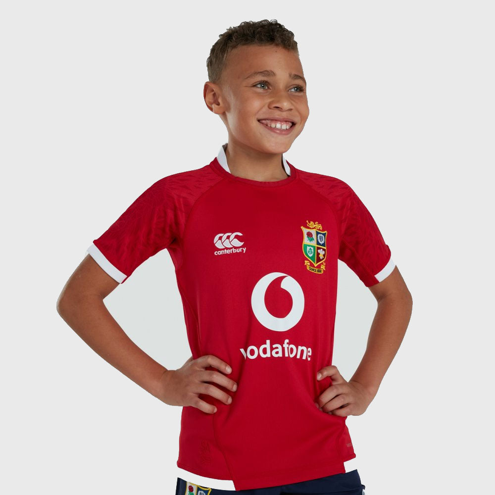 British & Irish Lions SA 2021 Kid's Pro Rugby Shirt