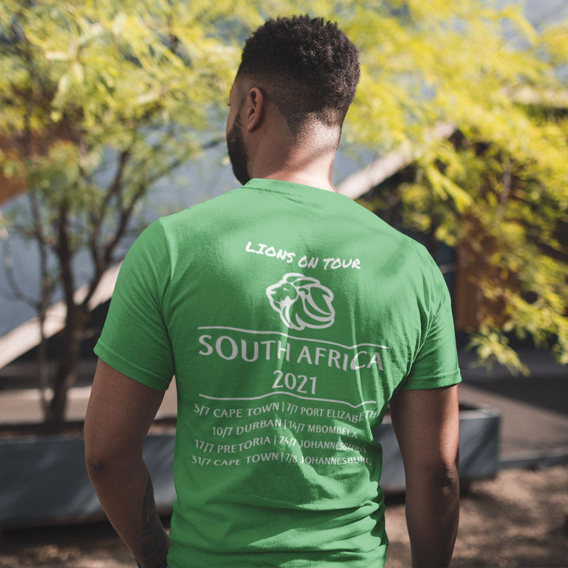 Lions On Tour South Africa 2021 Tee