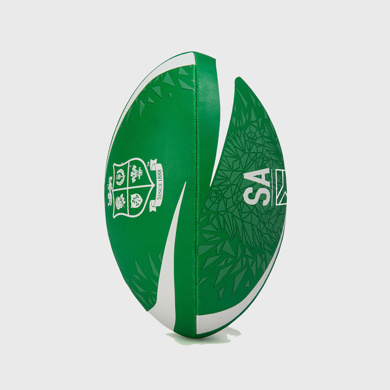 British & Irish Lions SA 2021 Thrillseeker Supporter Rugby Ball Green