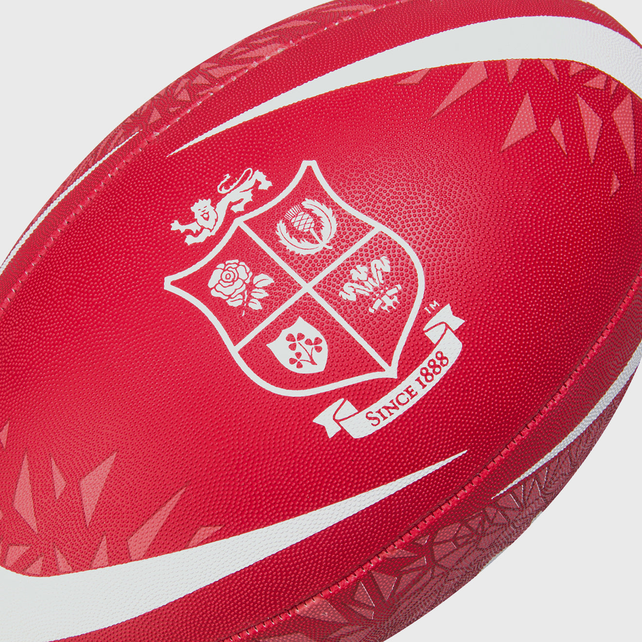 British & Irish Lions SA 2021 Thrillseeker Supporter Rugby Ball Red