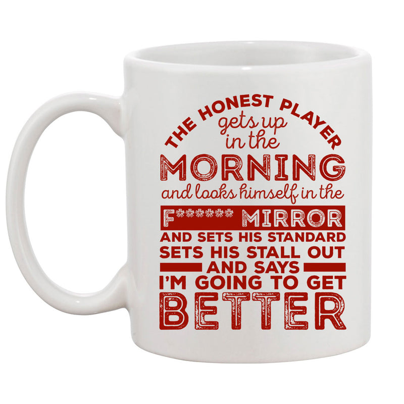 The Honest Player Rugby Mug - First XV rugbystuff.com