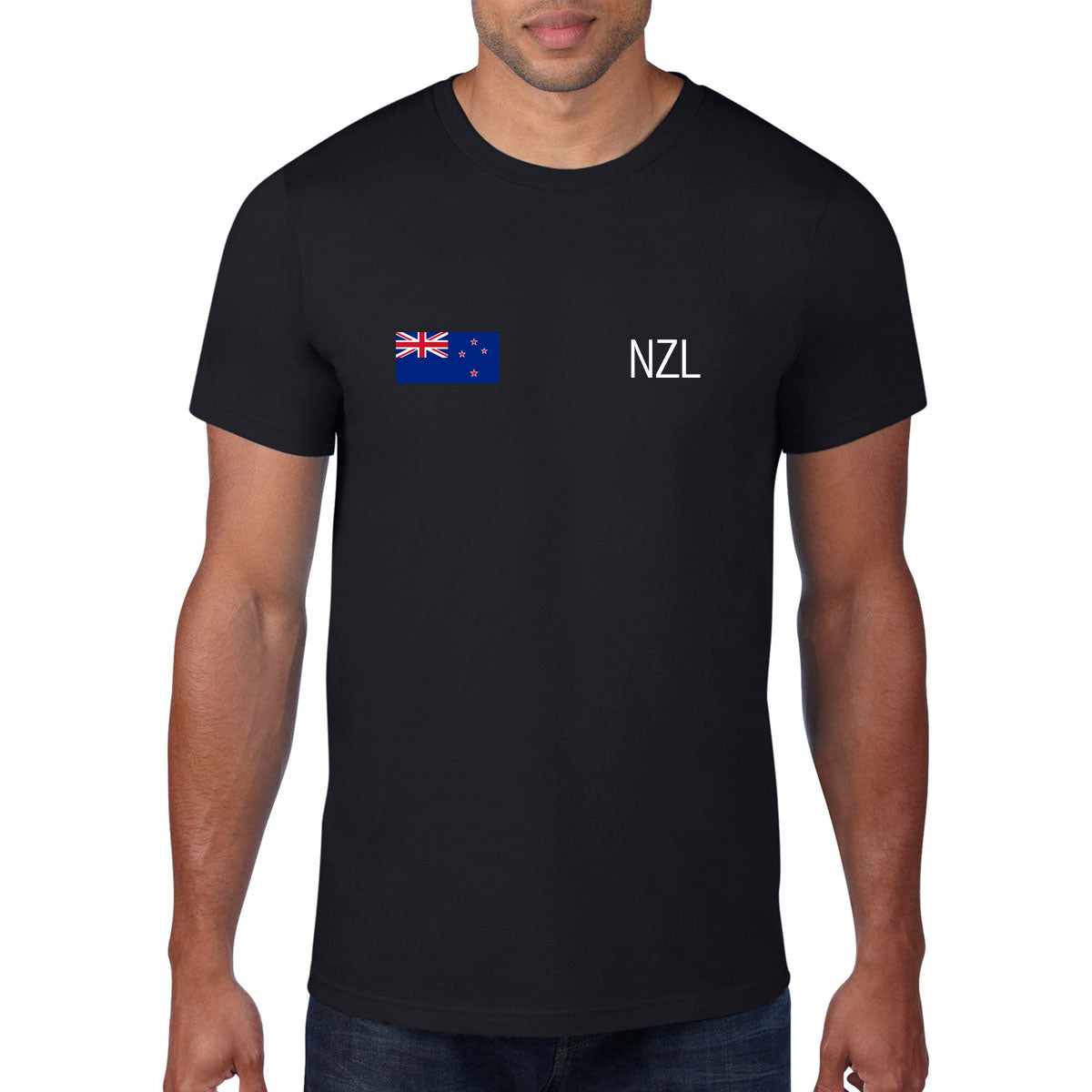 New Zealand Rugby Flag Tee - First XV rugbystuff.com