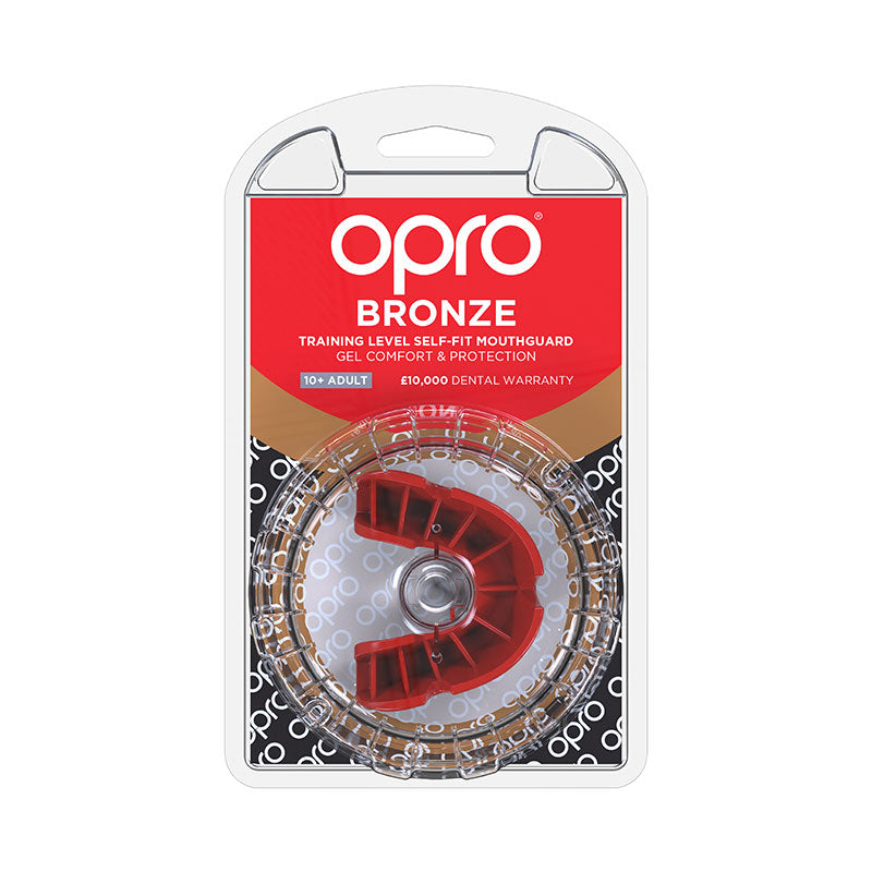 Bronze Gen4 Mouthguard Red