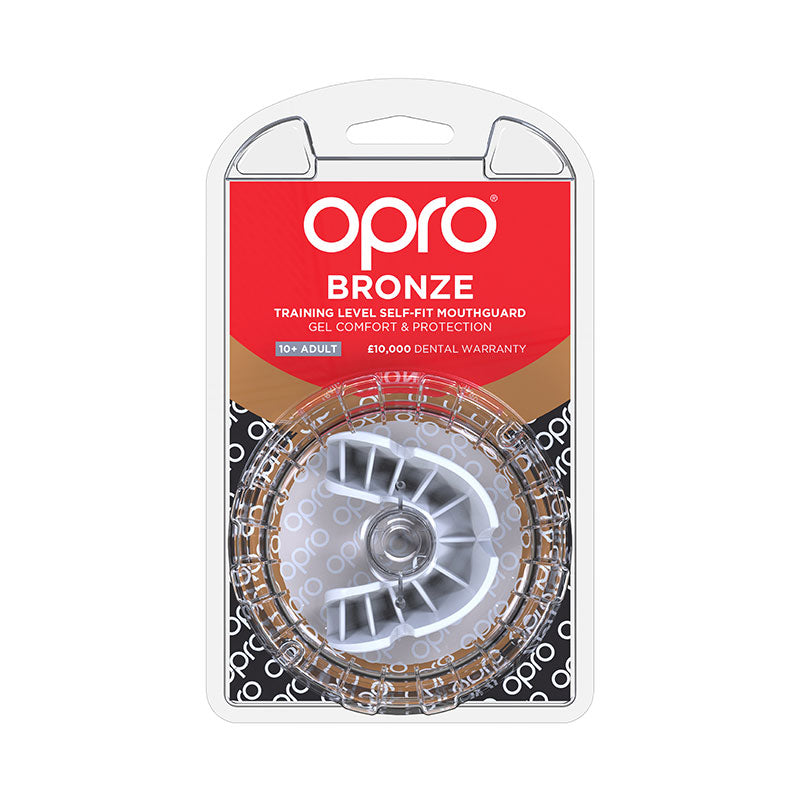 Bronze Gen4 Mouthguard White