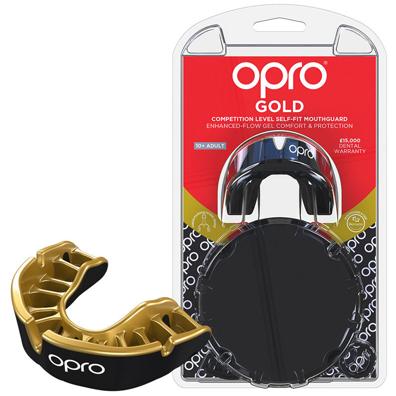Gold Gen4 Mouthguard Black/Gold