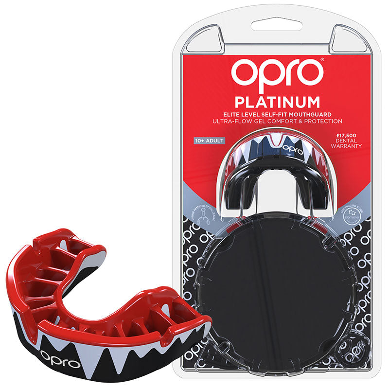 Platinum Gen4 Mouthguard Red/White/Black