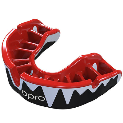 Platinum Gen4 Mouthguard Red/White/Black - First XV rugbystuff.com