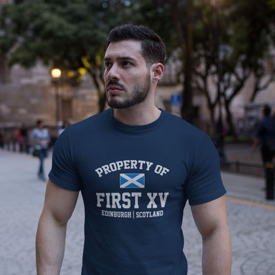 Property Of First XV, Edinburgh, Scotland Tee