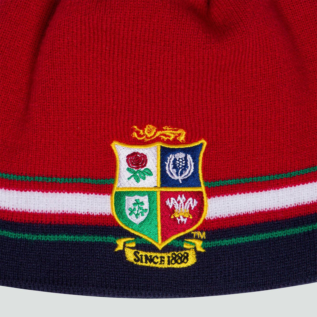 British & Irish Lions SA 2021 Beanie Red