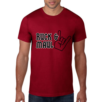 Ruck & Maul Rugby Tee - First XV rugbystuff.com