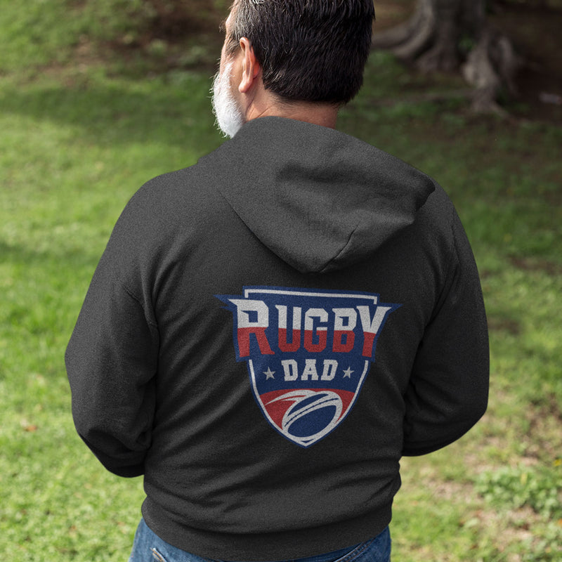 Rugby Dad Crest Hoody