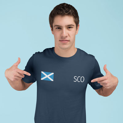 Scotland Flag Tee - First XV rugbystuff.com