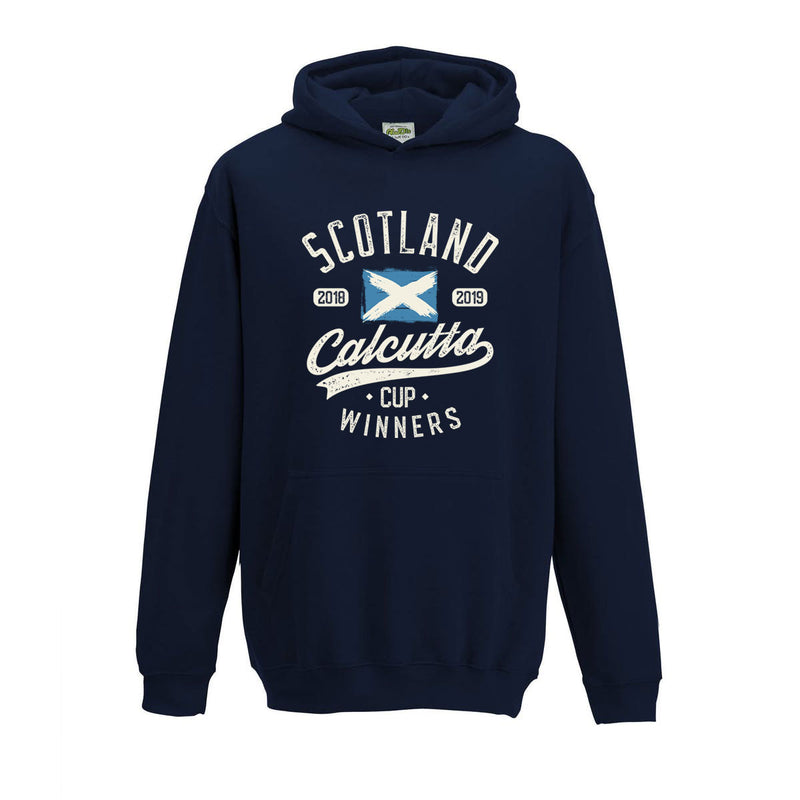 Kid's Scotland 2018 & 2019 Calcutta Cup Winners Hoody
