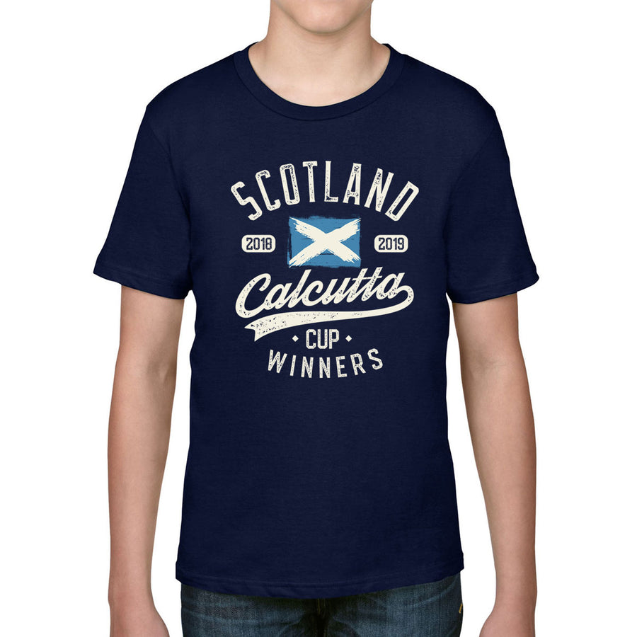 Kid's Scotland 2018 & 2019 Calcutta Cup Winners Tee