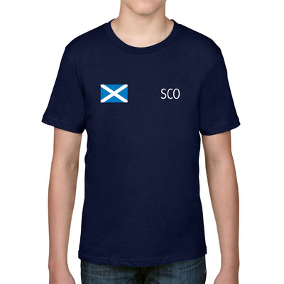 Scotland Kid's Flag Tee