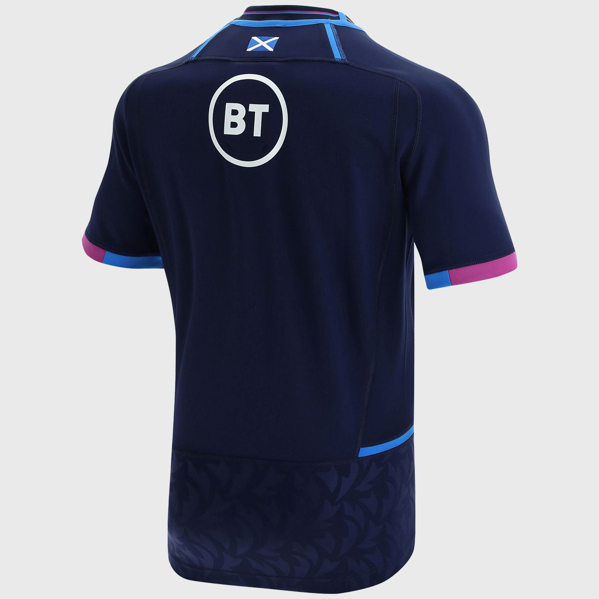 Scotland Home Pro Player's Bodyfit Rugby Shirt 2020/21