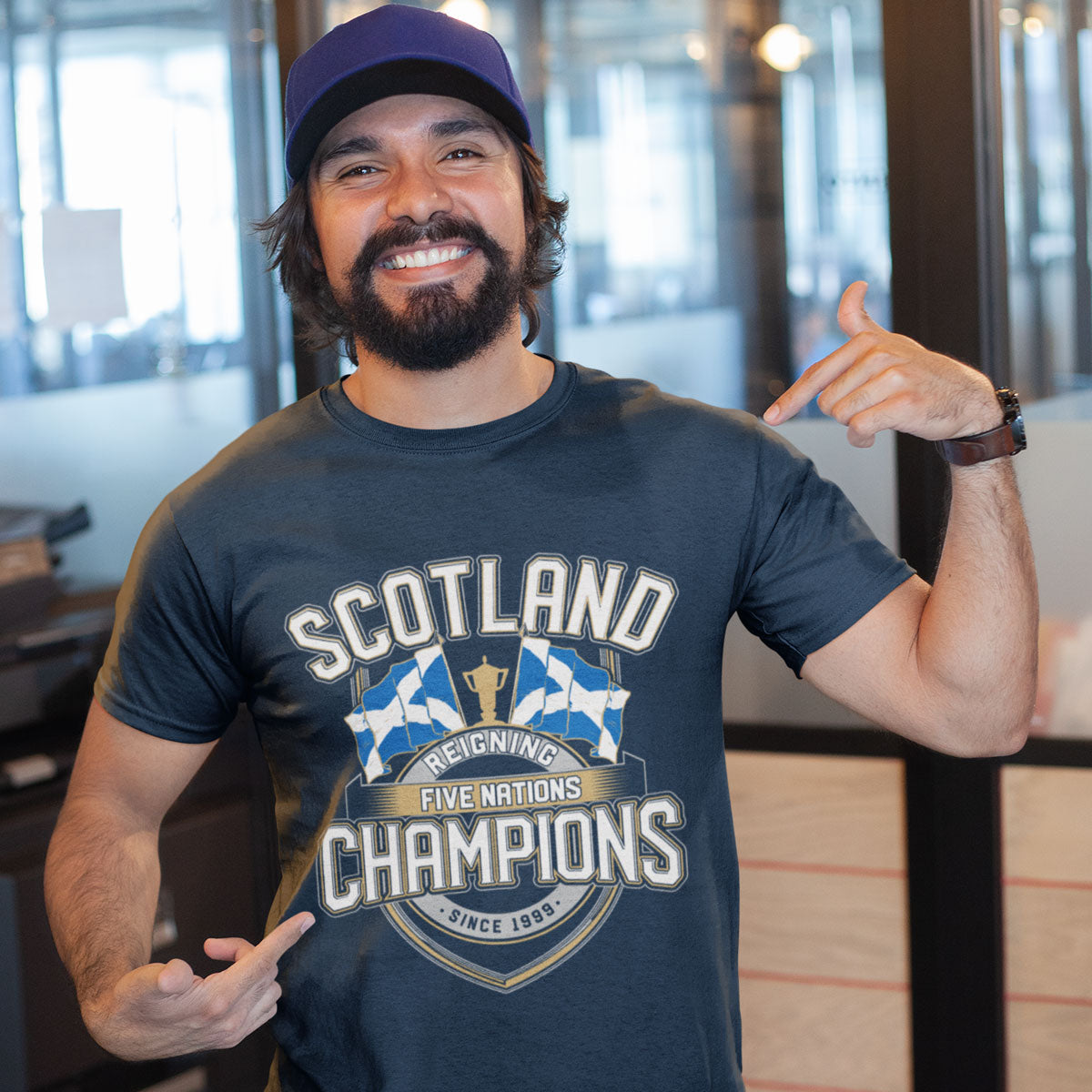 Men's Scotland Reigning Five Nations Champions Tee