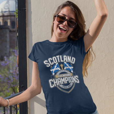 Women's Scotland Reigning Five Nations Champions Tee