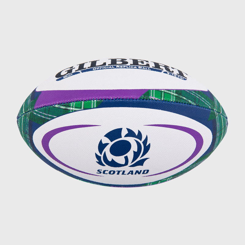 Scotland Replica Midi Rugby Ball Tartan - First XV rugbystuff.com