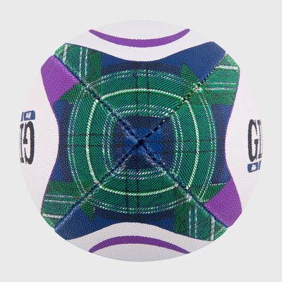 Scotland Replica Midi Rugby Ball Tartan