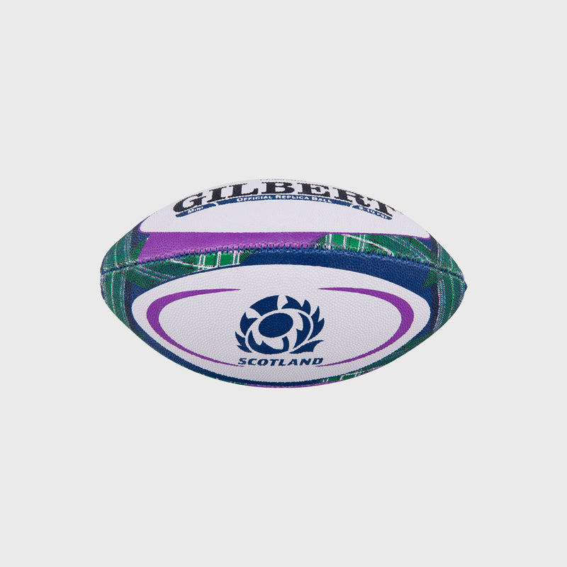 Scotland Replica Mini Rugby Ball Tartan - First XV rugbystuff.com