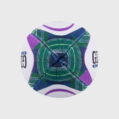 Scotland Replica Mini Rugby Ball Tartan