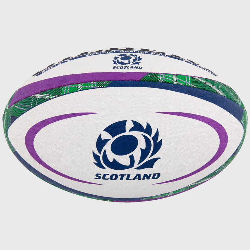 Scotland Replica Rugby Ball Tartan - First XV rugbystuff.com