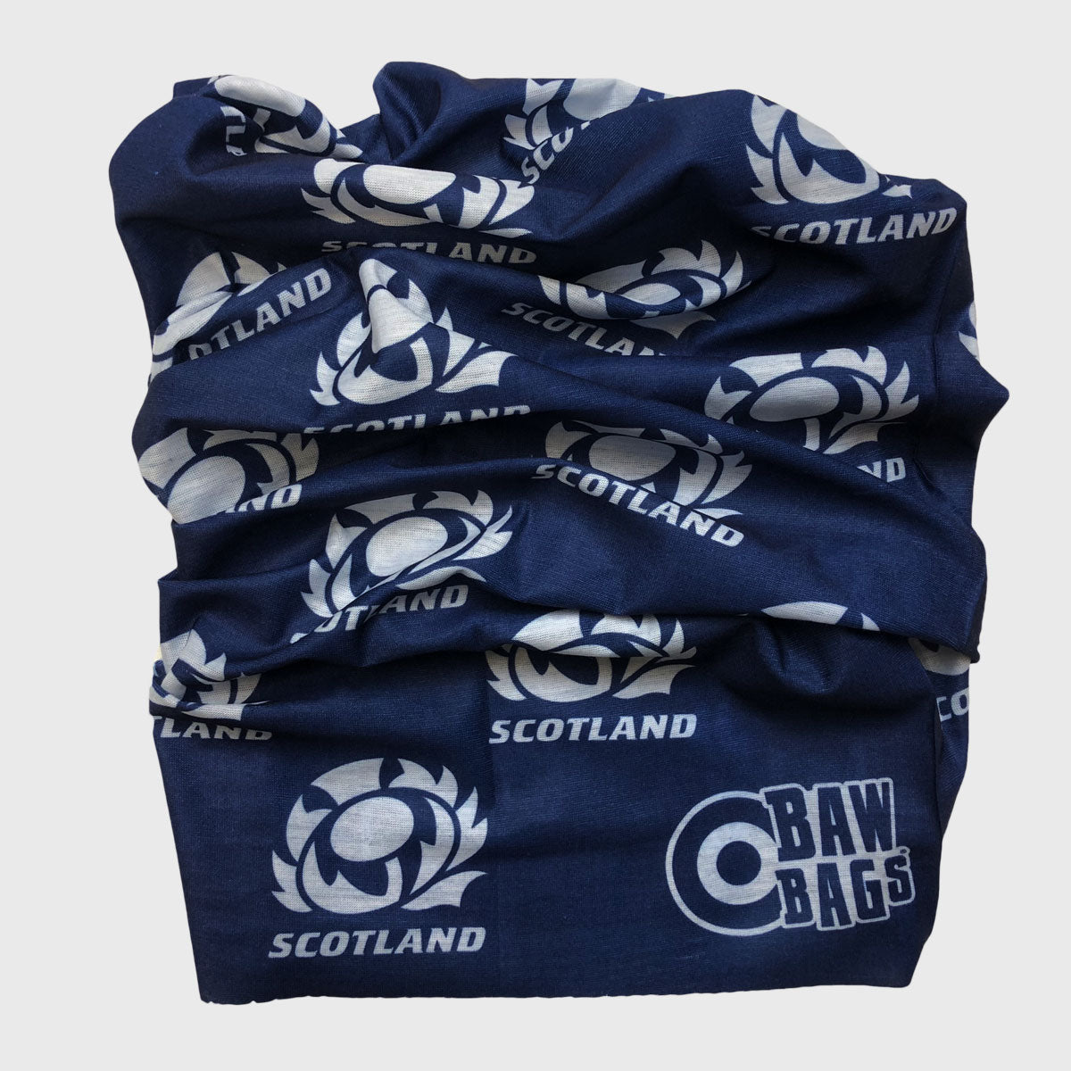 Scotland Rugby Wizard Sleeve Buff Navy/White
