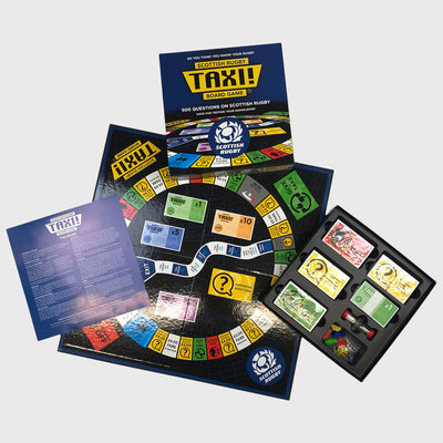 Scotland Rugby Taxi Board Game - First XV rugbystuff.com