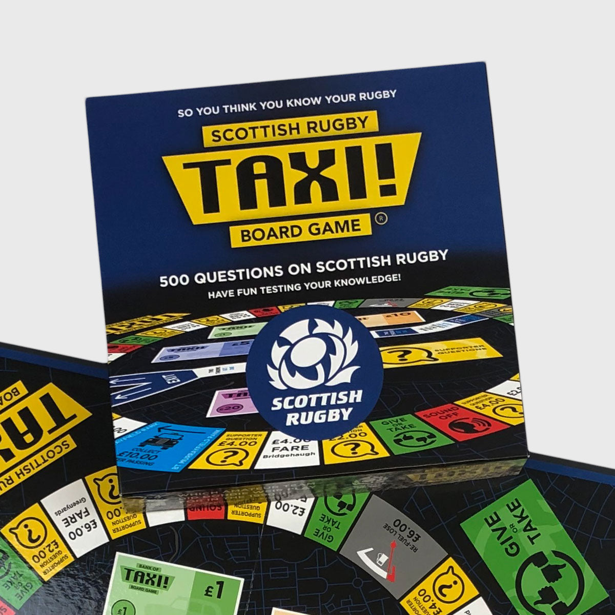 Scotland Rugby Taxi Board Game