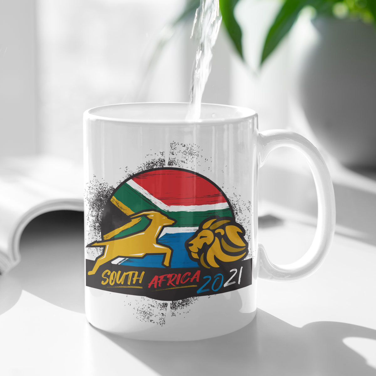 South Africa 2021 Rugby Mug - First XV rugbystuff.com