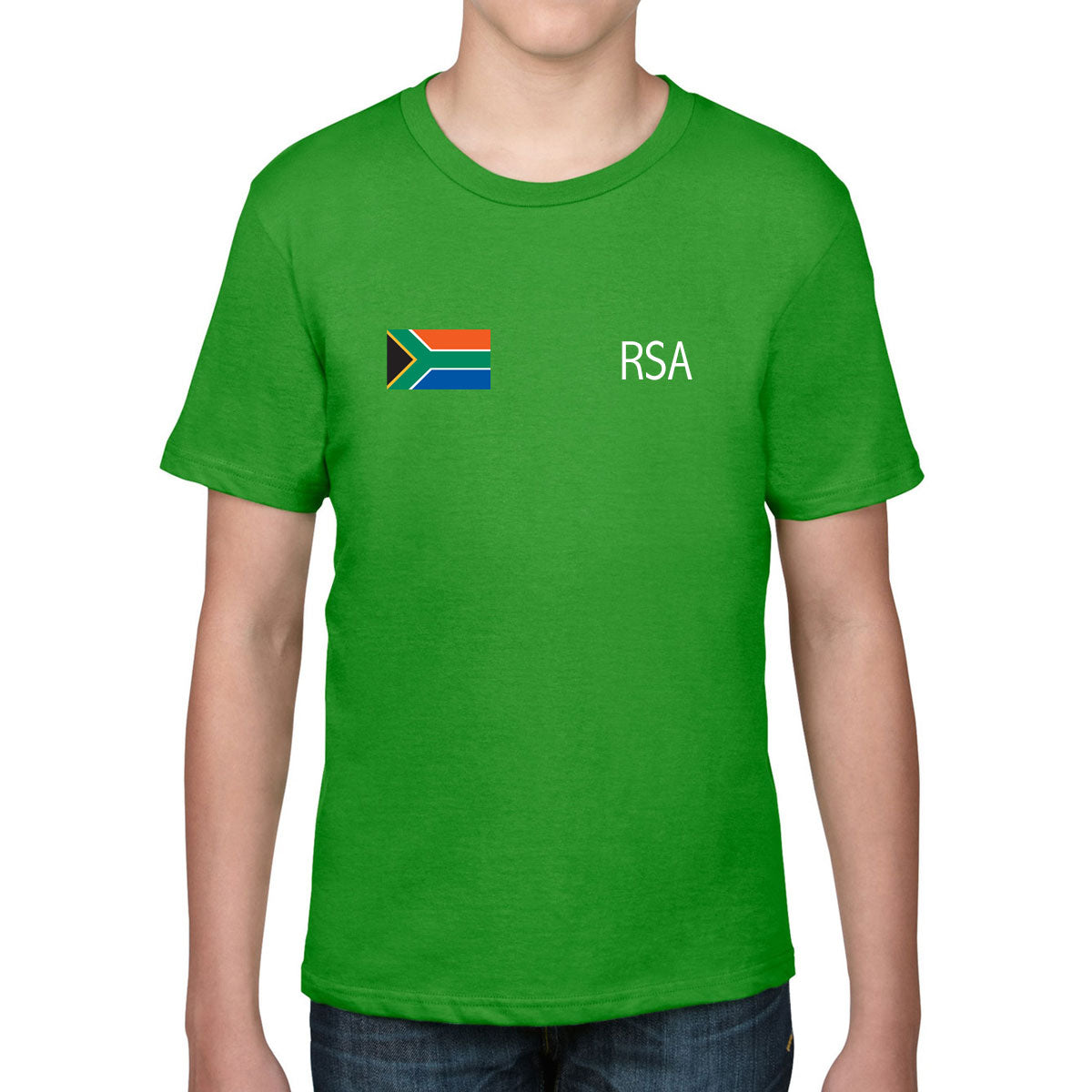 South Africa Rugby Kid's Flag Tee - First XV rugbystuff.com
