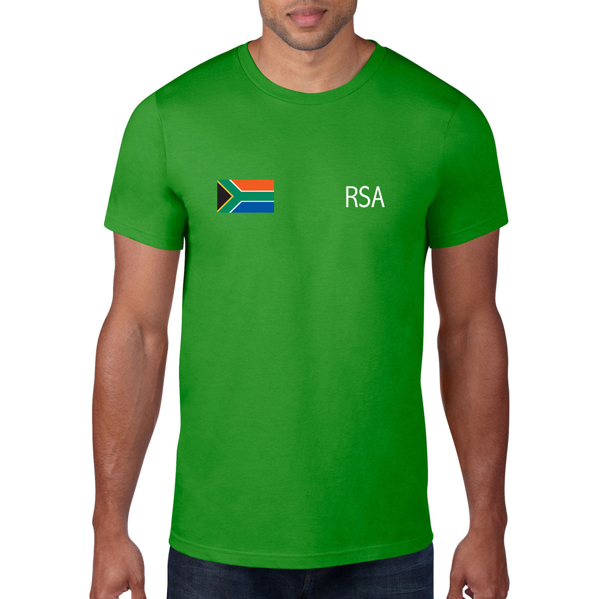 South Africa Rugby Flag Tee - First XV rugbystuff.com