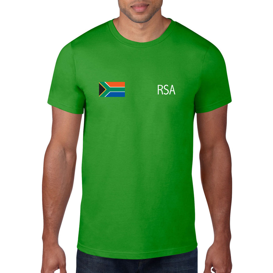 South Africa Rugby Flag Tee