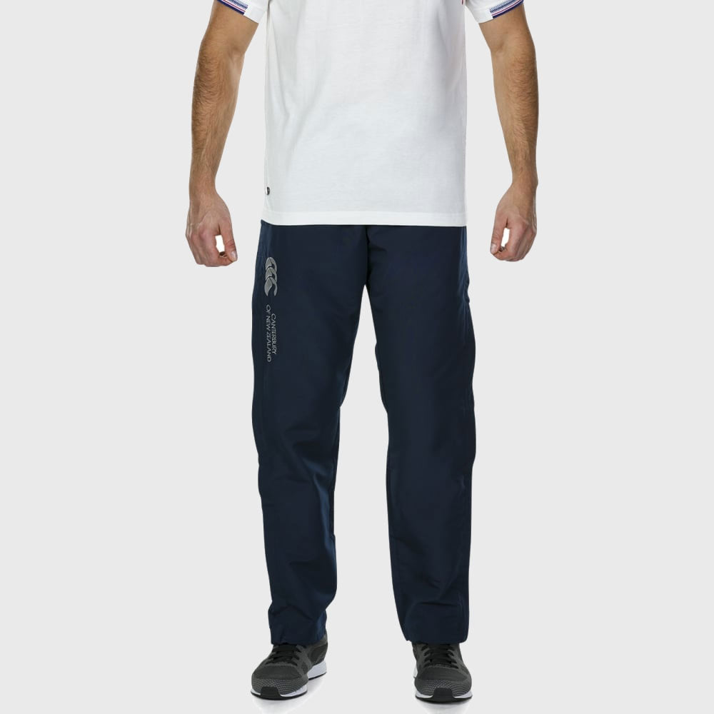 Men's Tapered Open Hem Stadium Pants Navy - First XV rugbystuff.com