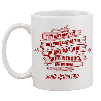 They Don't Respect You Rugby Mug - First XV rugbystuff.com