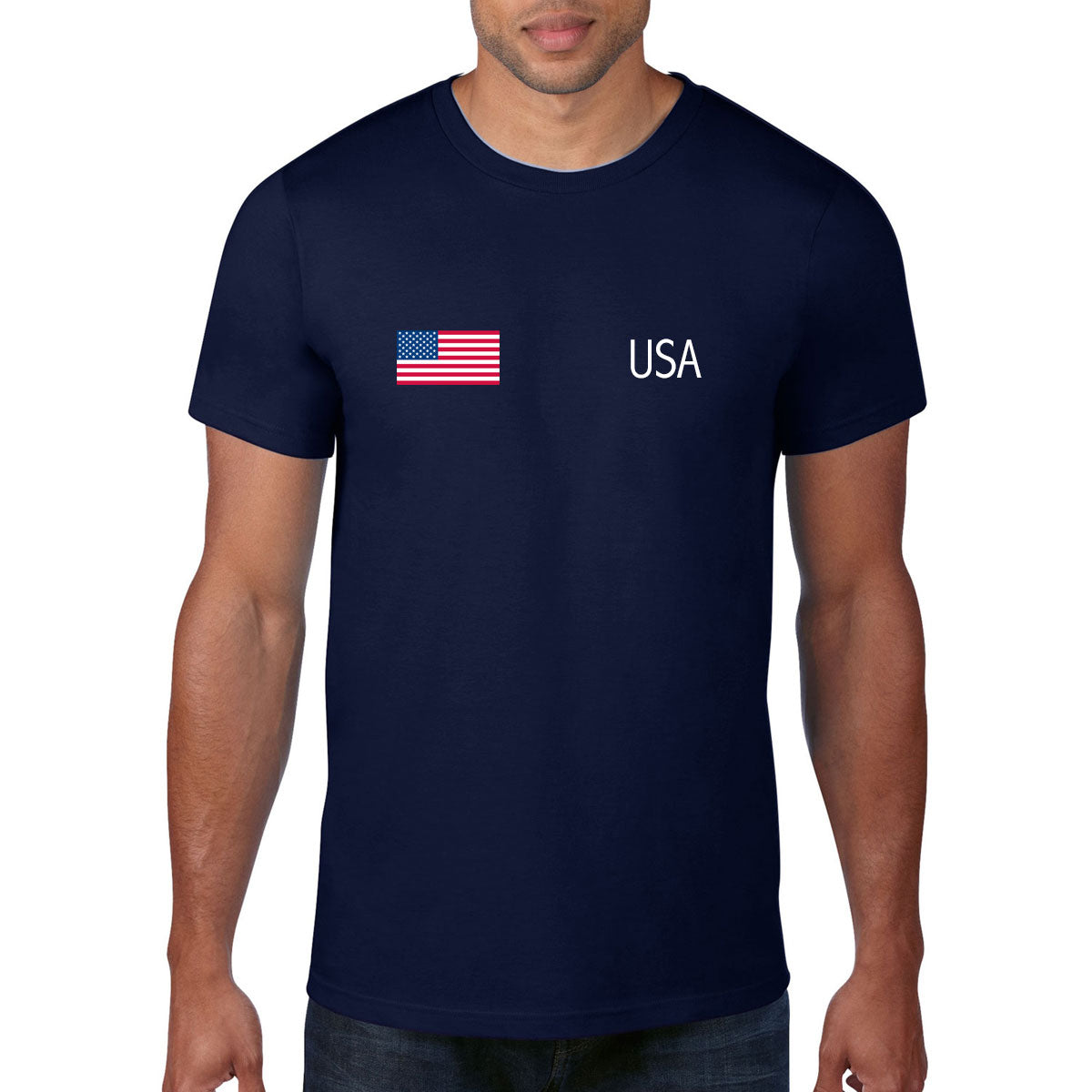 USA Rugby Flag Tee