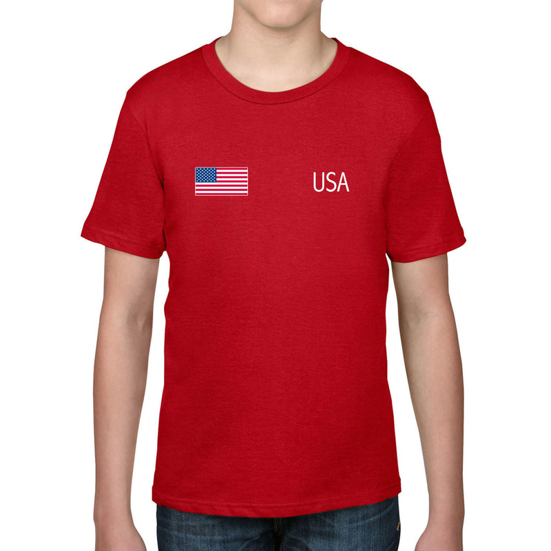 USA Rugby Kid's Flag Tee