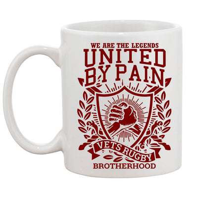 Rugby Vets United By Pain Mug