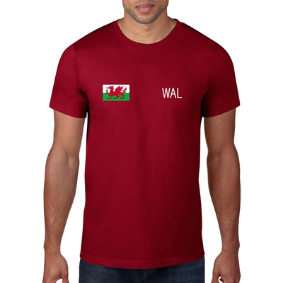 Wales Rugby Flag Tee - First XV rugbystuff.com