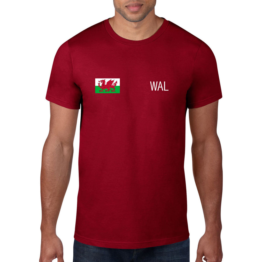 Wales Rugby Flag Tee