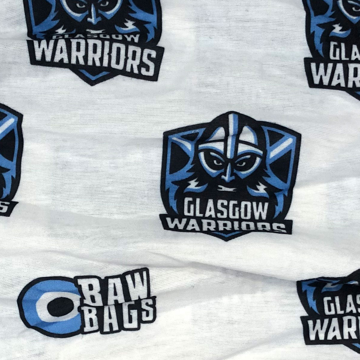 Glasgow Warriors Multi Sleeve Buff White