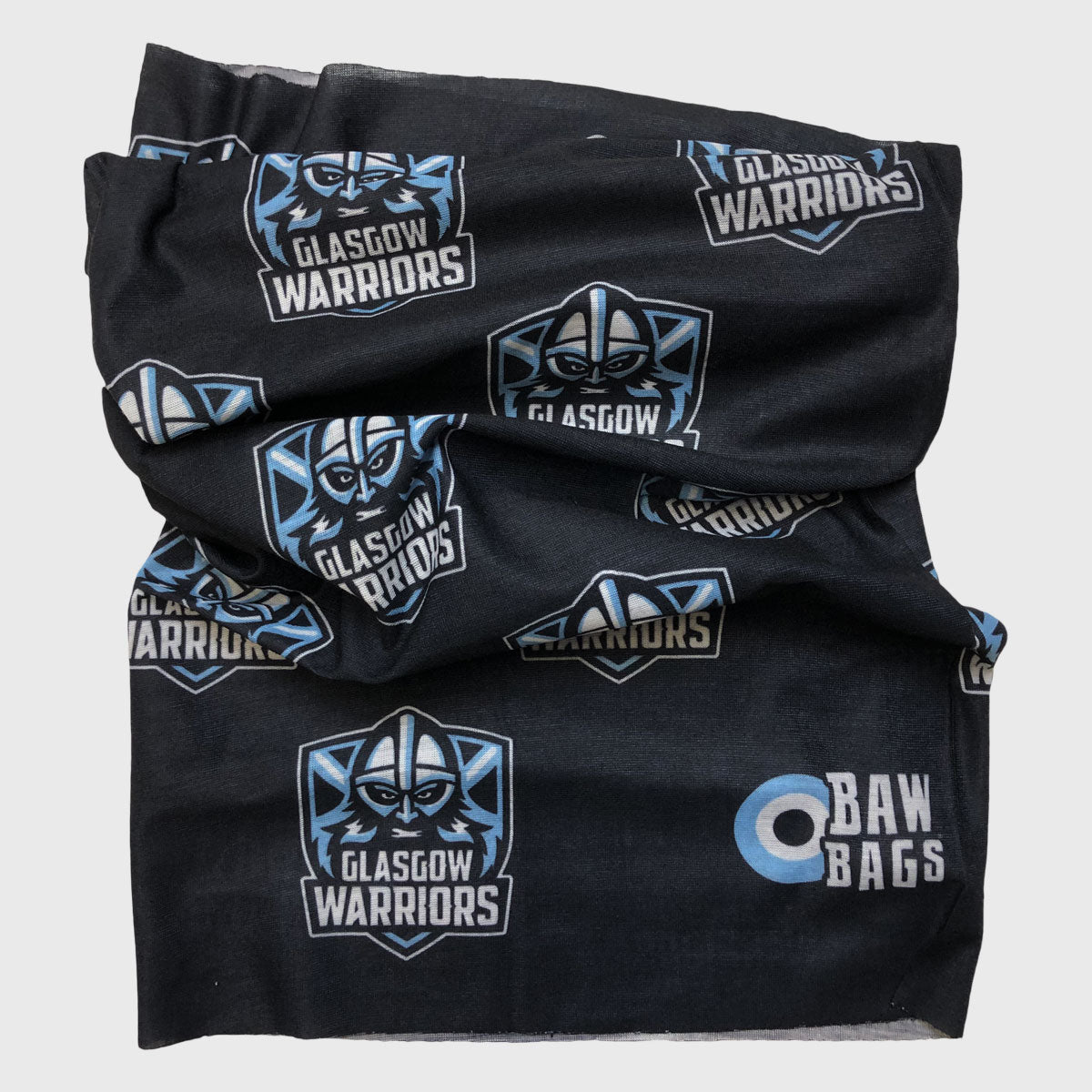 Glasgow Warriors Wizard Sleeve Buff Black