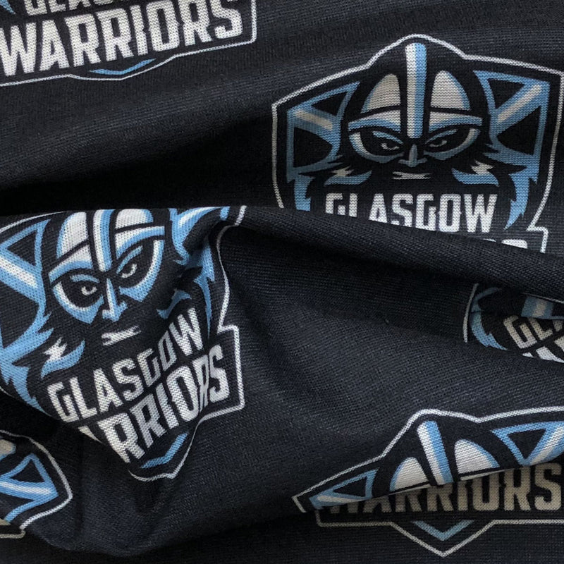 Glasgow Warriors Multi Sleeve Buff Black