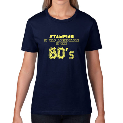 Women's Acceptable In The 80's Tee - First XV rugbystuff.com