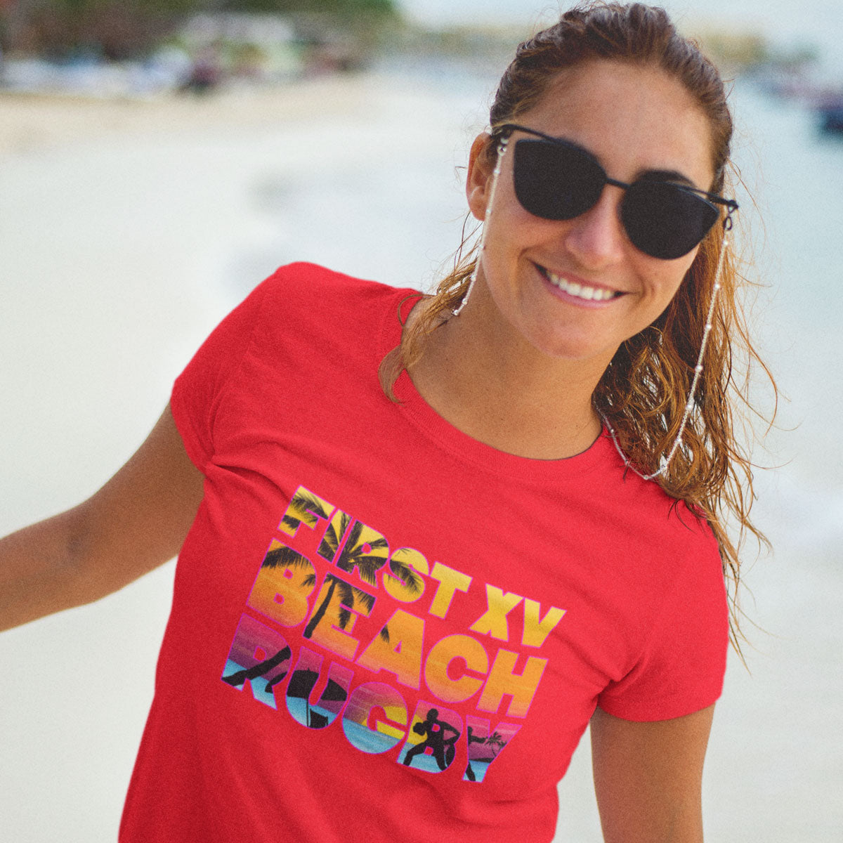 Women's Beach Rugby Tee