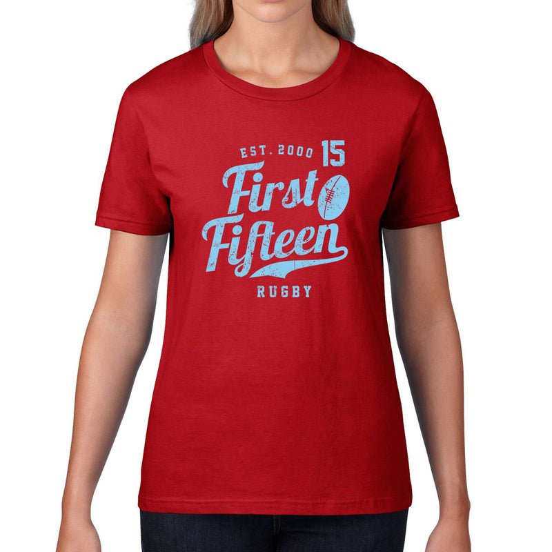 Women's First Fifteen Rugby Tee