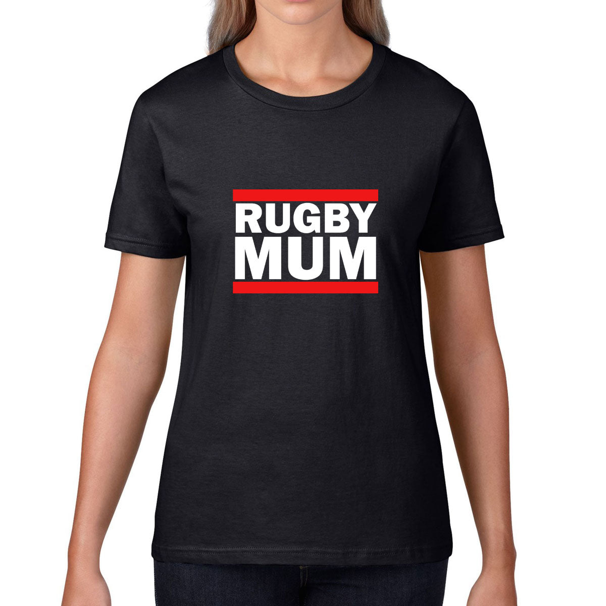 Women's Rugby Mum Tee - First XV rugbystuff.com