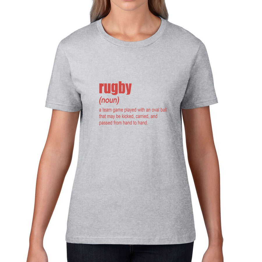Women's Rugby Definition Tee