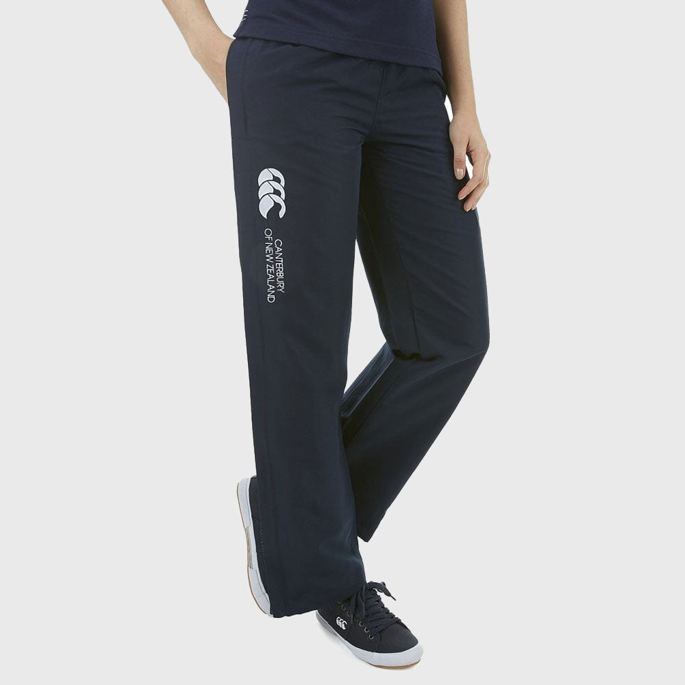 Women's Open Hem Stadium Pants Navy - First XV rugbystuff.com